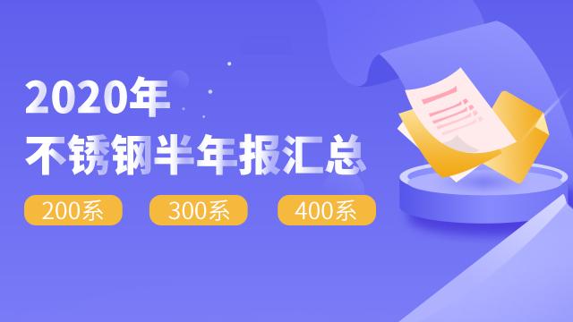 2020雷竞技官网半年报汇总