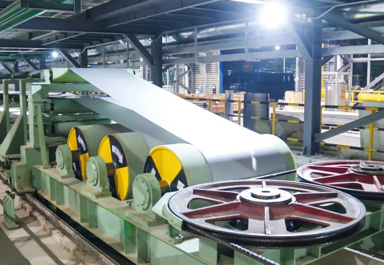 阳江宏旺年产50万吨三机架连轧连退酸洗联合机组顺利试产
