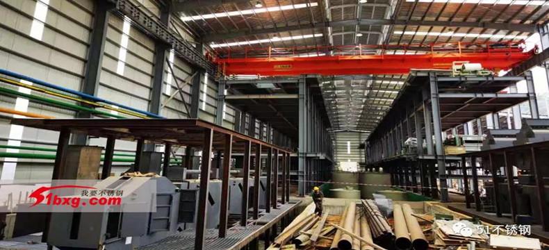 鑫峰特钢100万吨固溶酸洗线最快下月投产